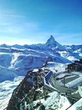 Montaña de Cervino, suizo Fotografía de archivo libre de regalías