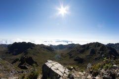 Montaña de Chirripo Foto de archivo libre de regalías