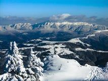 Montaña de Ciucas foto de archivo libre de regalías