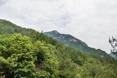 Montaña de Dazhang Imagenes de archivo