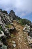 Montaña de Dikeos Imagen de archivo libre de regalías