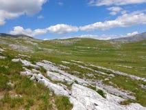 Montaña de Dinara Imagenes de archivo