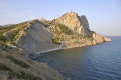 Montaña de Eagle y la bahía azul Fotos de archivo libres de regalías