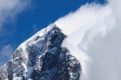 Montaña de Eiger en la región de Jungfrau imagenes de archivo