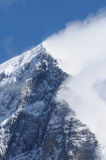Montaña de Eiger en la región de Jungfrau foto de archivo