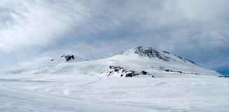 Montaña de Elbrus Fotografía de archivo