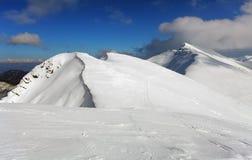 Montaña de Eslovaquia en el invierno, Tatras bajo Imagen de archivo