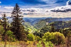 Montaña de Feldberg en primavera Foto de archivo libre de regalías