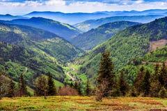 Montaña de Feldberg en primavera Imágenes de archivo libres de regalías