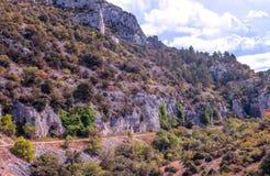 Montaña de Gordes Foto de archivo libre de regalías