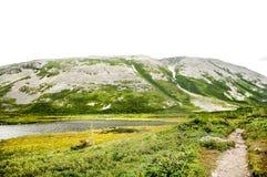 Montaña de Gros Morne Fotografía de archivo