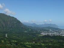 Montaña 3 de Hawaii Imagen de archivo