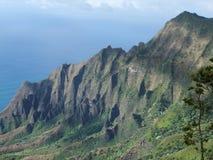 Montaña 6 de Hawaii Fotos de archivo