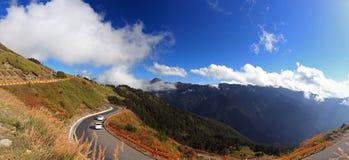 Montaña de Hehuan, paisaje famoso de Taiwán Foto de archivo