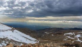 Montaña de Hermon foto de archivo libre de regalías