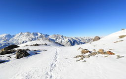 Montaña de Hohsaas, 3.142 m Las montañas, Suiza Foto de archivo libre de regalías