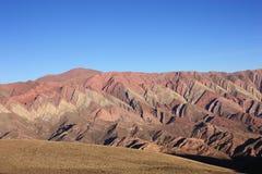 Montaña de Hornocal Fotos de archivo