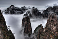 Montaña de Huangshan Imagenes de archivo