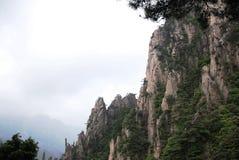 Montaña de Huangshan Imágenes de archivo libres de regalías