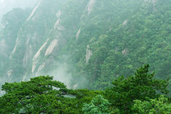 Montaña de Huangshan hermosa en China Imagen de archivo libre de regalías