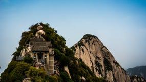 Montaña de Huashan Fotos de archivo libres de regalías