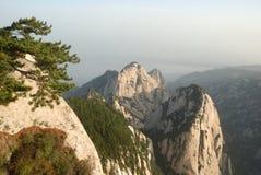 Montaña de Huashan del chino Fotos de archivo
