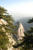 Montaña de Huashan del chino Fotografía de archivo