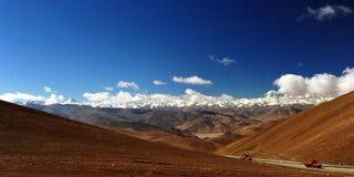 Montaña de Hymalaya Imagenes de archivo