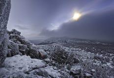 Montaña de Iremel Fotos de archivo libres de regalías