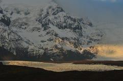 Montaña de Islandia Imagenes de archivo