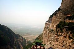 Montaña de Jiexiu Mian Foto de archivo