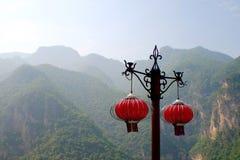 Montaña de Jiexiu Mian Fotografía de archivo