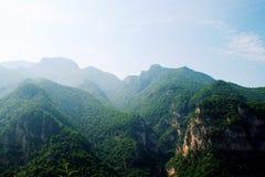 Montaña de Jiexiu Mian Fotografía de archivo libre de regalías
