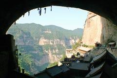 Montaña de Jiexiu Mian Imagen de archivo