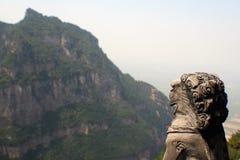 Montaña de Jiexiu Mian Imagenes de archivo