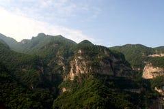 Montaña de Jiexiu Mian Imagen de archivo libre de regalías