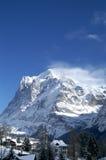 Montaña de Jungfrau Imagen de archivo
