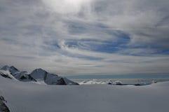 Montaña de Jungfraujoch Fotografía de archivo