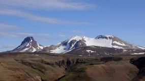 Montaña de Kerlingarfjöll Imágenes de archivo libres de regalías