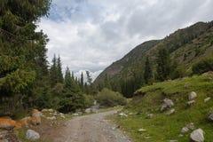 Montaña de Kirguistán Imágenes de archivo libres de regalías