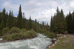 Montaña de Kirguistán Foto de archivo libre de regalías