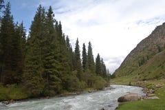 Montaña de Kirguistán Imagen de archivo libre de regalías