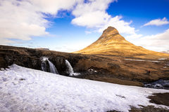 Montaña de Kirkjufell Imagenes de archivo