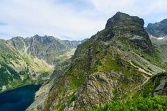 Montaña de Koscielec. Fotografía de archivo