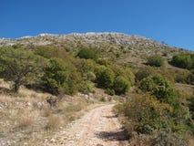 Montaña de Krstec Imagen de archivo