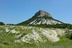 Montaña de Kyz-Kermen, Crimea Fotos de archivo