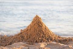 Montaña de la arena Fotografía de archivo libre de regalías