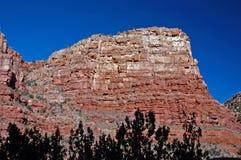 Montaña de la barranca de Verde Fotos de archivo