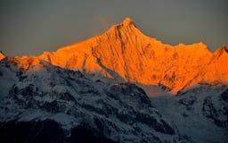Montaña de la demostración de Meili Foto de archivo libre de regalías
