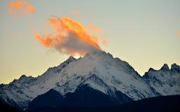Montaña de la demostración de Meili Fotos de archivo libres de regalías